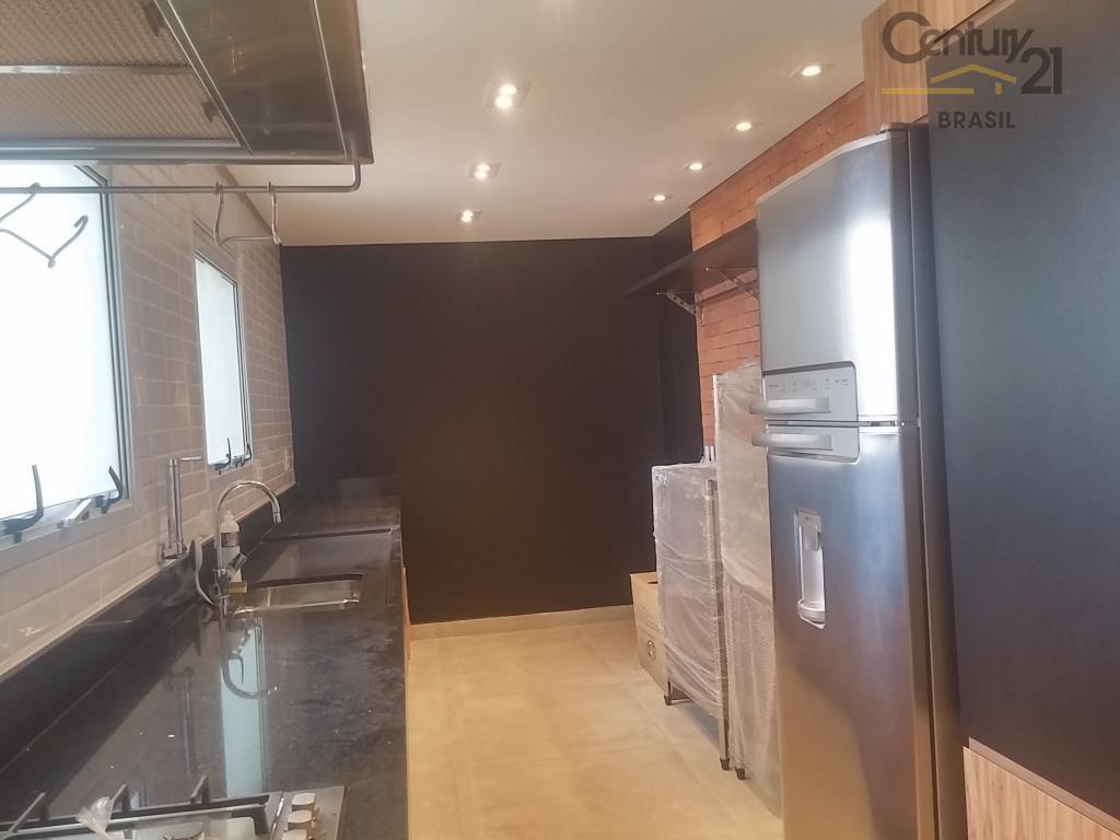 apartamento alto padrão no brooklin, com varanda integrada no living de 03 ambientes, envidraçada com vista...