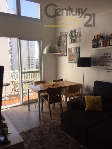 loft duplex pronto para morar ,pé direito duplo, com cozinha planejada, lavabo, piso laminado, sala com...