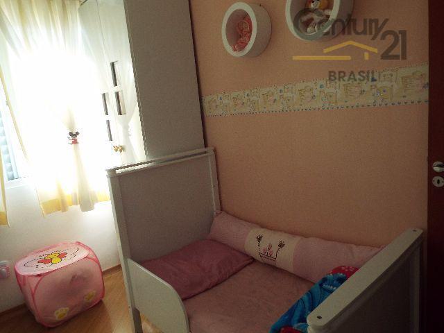 apartamento 56 m² com 2 dormitórios, sendo 1 suite, andar alto, sala com varanda, piso laminado,...