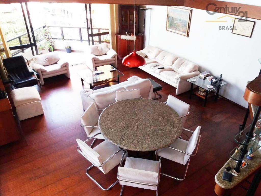 Apartamento Duplex residencial à venda, Campo Belo, São Paulo.