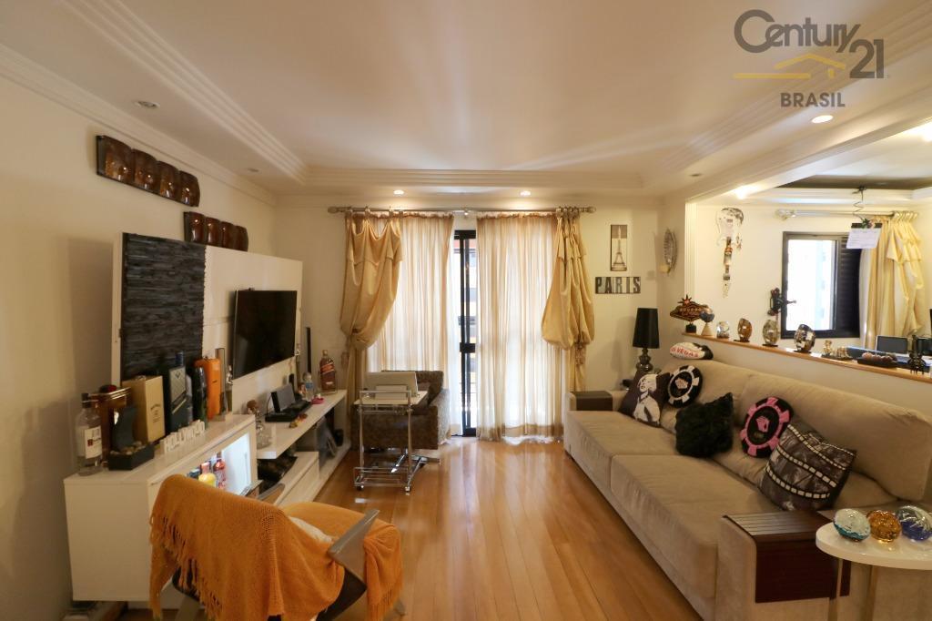 Apartamento residencial à venda, 129 m², Brooklin, São Paulo