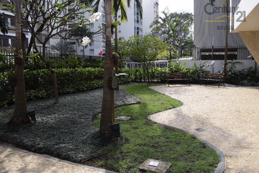 localizado na rua pernambuco uma das ruas mais tranquilas e arborizadas e desejadas de higienopólis ,sala...