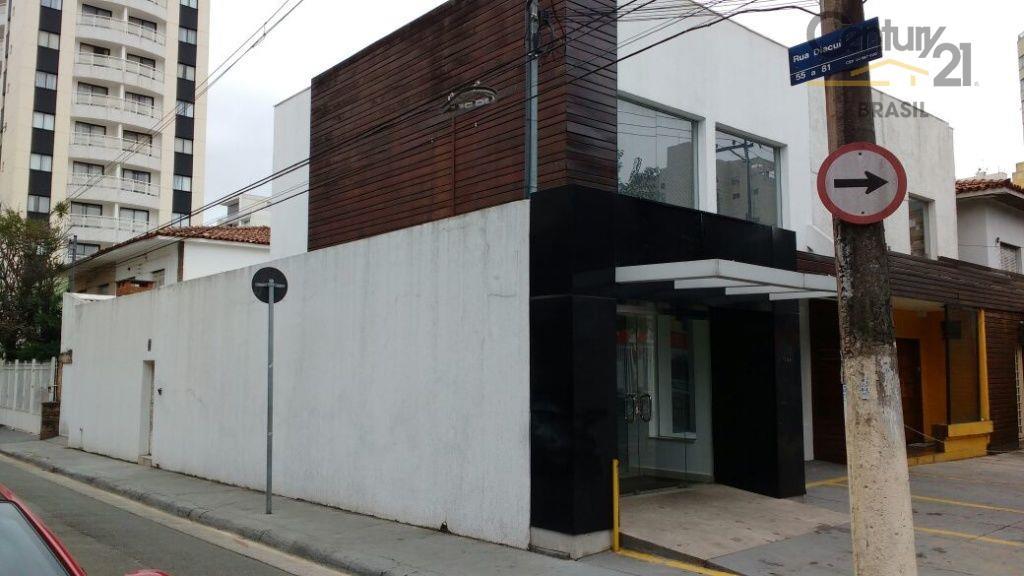 Casa Comercial para venda e locação, Indianópolis, São Paulo - CA0215
