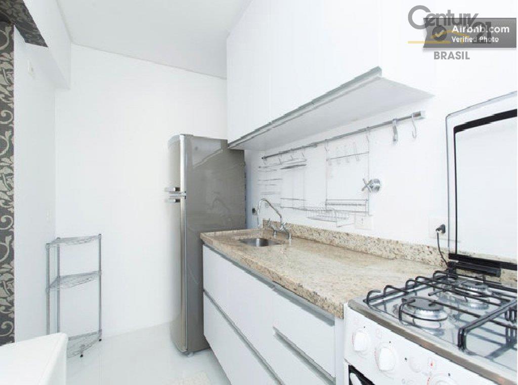 Apartamento Residencial para locação, Brooklin Paulista, São Paulo - AP1058.