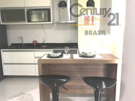 Apartamento Residencial para locação, Brooklin Paulista, São Paulo - AP0345.