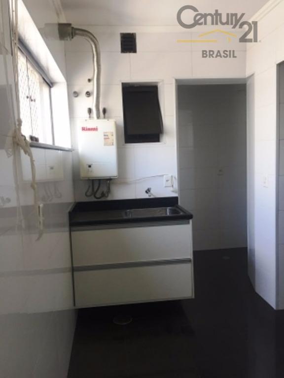 excelente apartamento de 100m sendo 3 suítes com armários, lavabo, sala para 2 ambientes com sacada,...