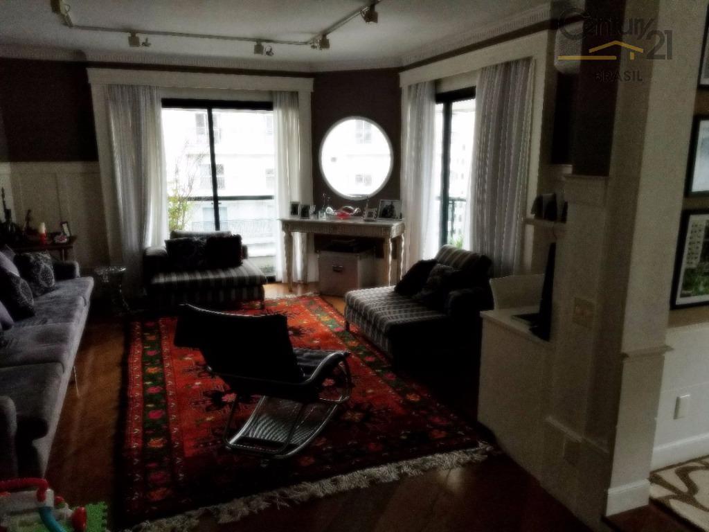 apartamento semi mobiliado com 200m² para venda
