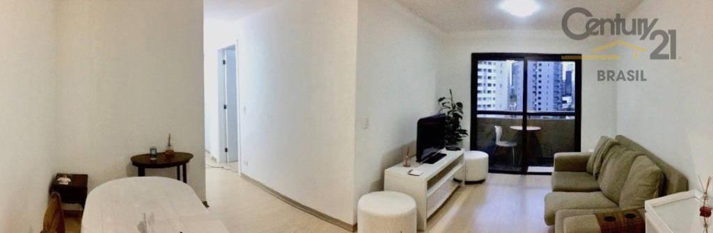 Vende apartamento moderno Vila Nova Conceição, ótimo para investimento