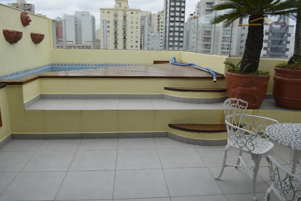 Doplex 3 dormitórios, 3 vagas, piscina, churrasqueira, 220m² à venda em Pinheiros