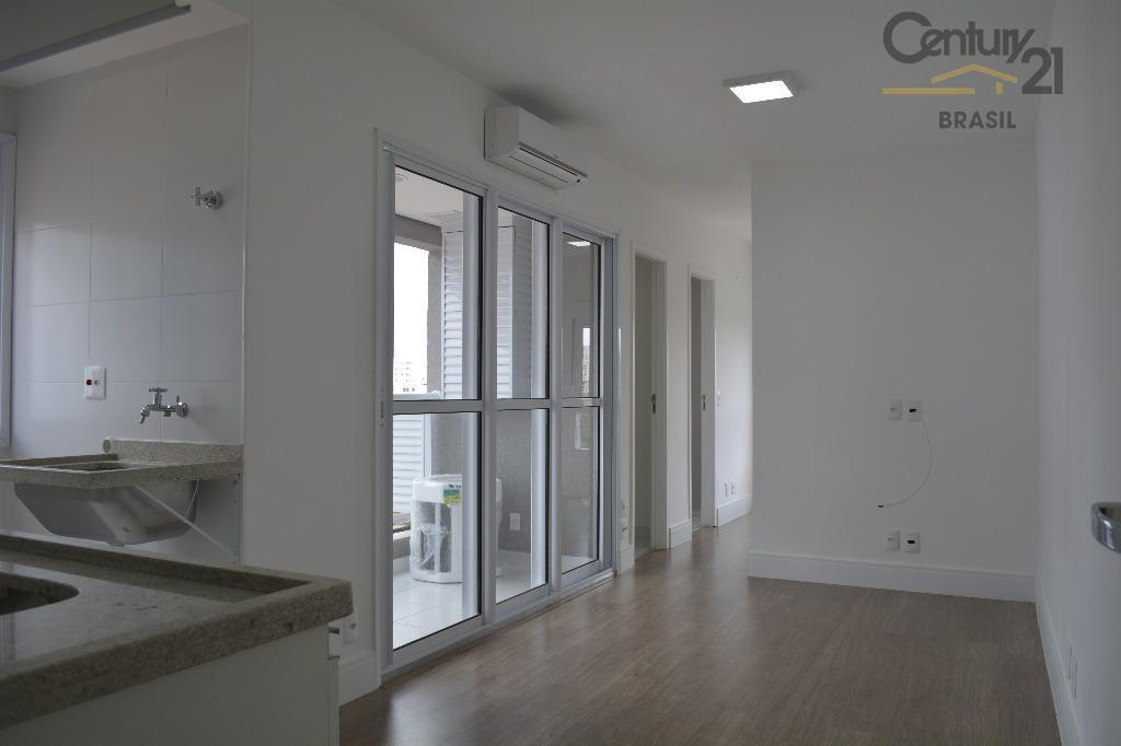 Apartamento novo em Pinheiros metrô Sumaré, 1 dormitório, varanda, 2 banheiros, 1 vaga, lazer, primeiro aluguel.