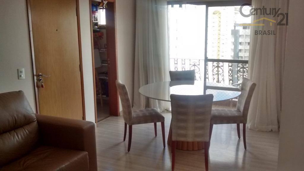 Apartamento MOBILIADO 3 dormitórios 1 suíte 2 vagas demarcadas - R$ 4.200+Condomínio+IPTU