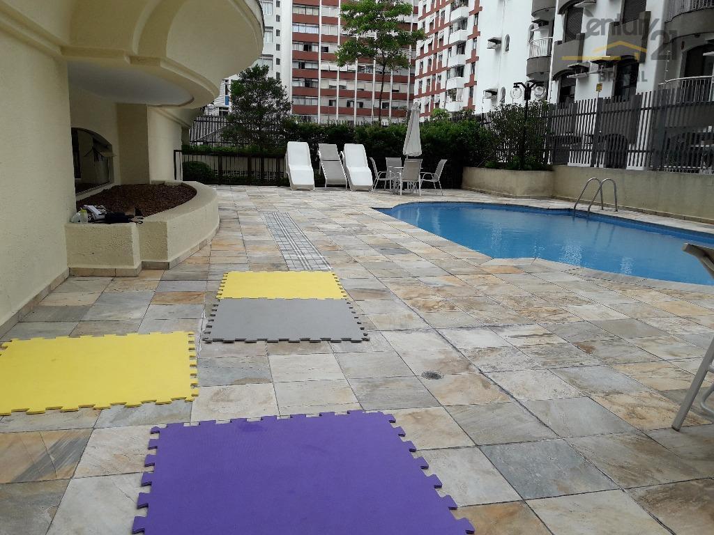Apartamento mobiliado para locação, Jardim Paulista