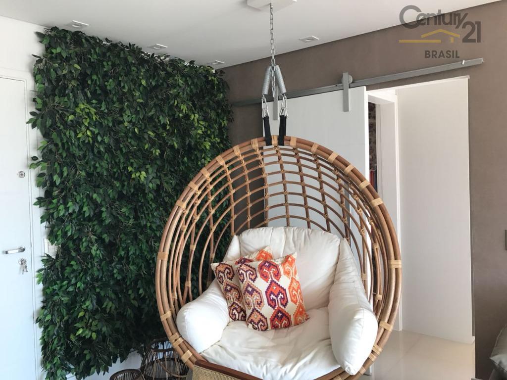 belíssimo apartamento no brooklin, bem localizado, próximo do shopping morumbi com 1 dormitório, sendo 1 suite,...