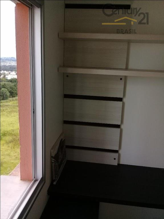 apartamento com 3 quartos, sendo um suíte, + banheiro social - com boxes em blindex -...