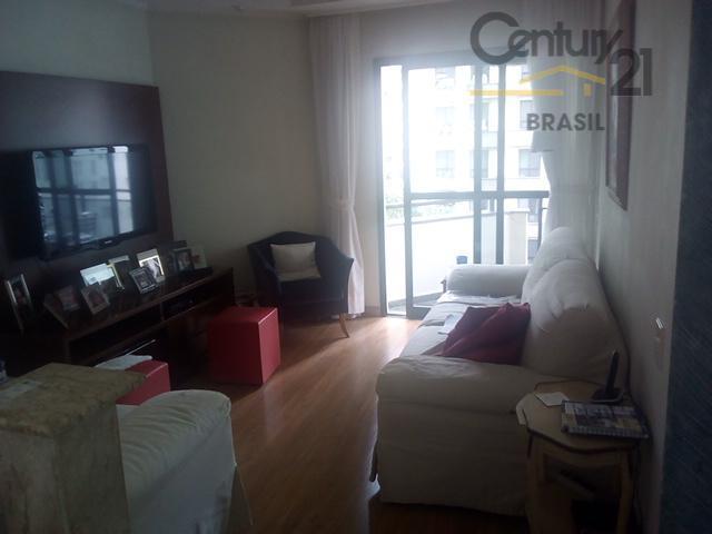 Apartamento residencial à venda, Indianópolis, São Paulo.