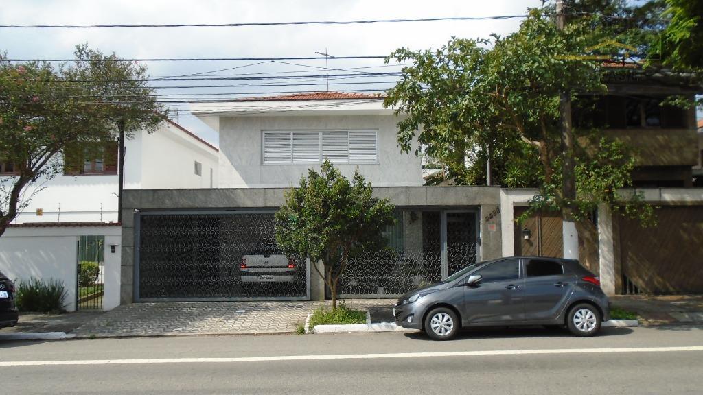 Sobrado residencial à venda, Indianópolis, São Paulo - SO0501.