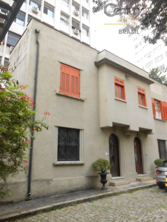 Casa de vila para locação comercia em Higienópolis
