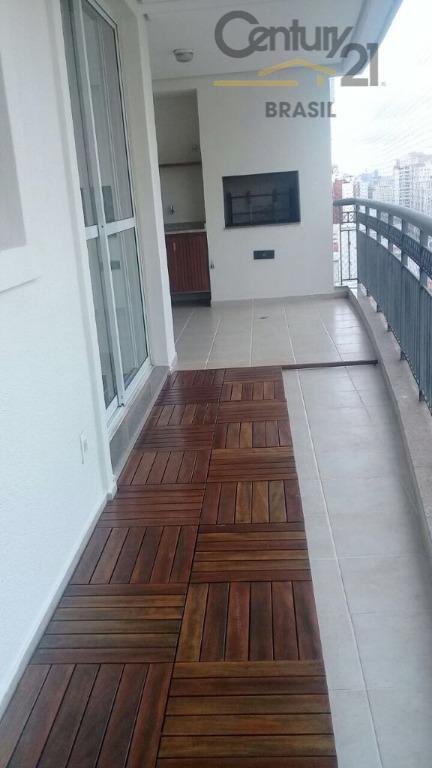Apartamento 3 dorm sendo 2 suítes, varanda gourmet, 3 vagas, andar alto, locação no melhor da Vila Leopoldina