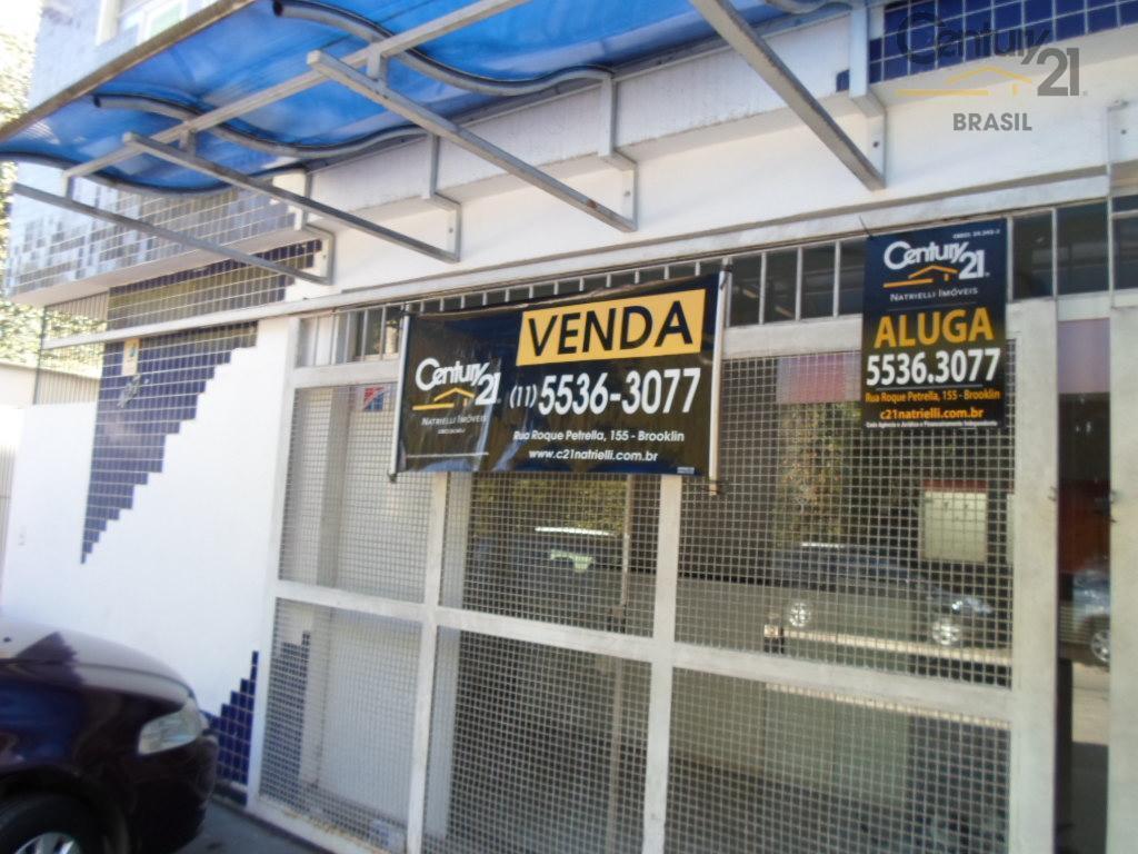 Sobrado comercial para venda e locação, Brooklin, São Paulo - SO1634.