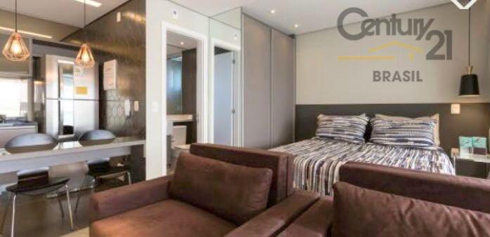 Apartamento Mobiliado para locação, 1 dormitório, 1 vaga, Brooklin, São Paulo.