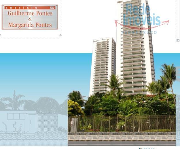 Apartamento residencial à venda, Casa Forte, Recife - AP0105.