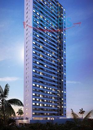 Apartamento residencial à venda, Madalena, Recife - AP0110.