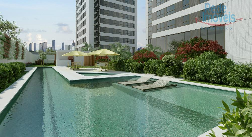 Flat residencial à venda, Parnamirim, Recife - FL0023.