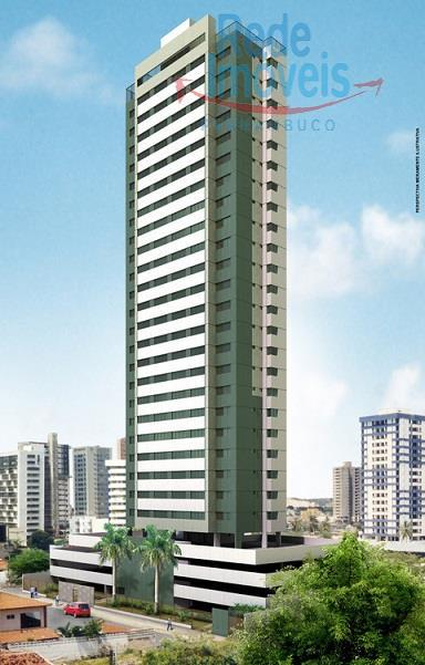 Flat residencial à venda, Boa Viagem, Recife - FL0039.