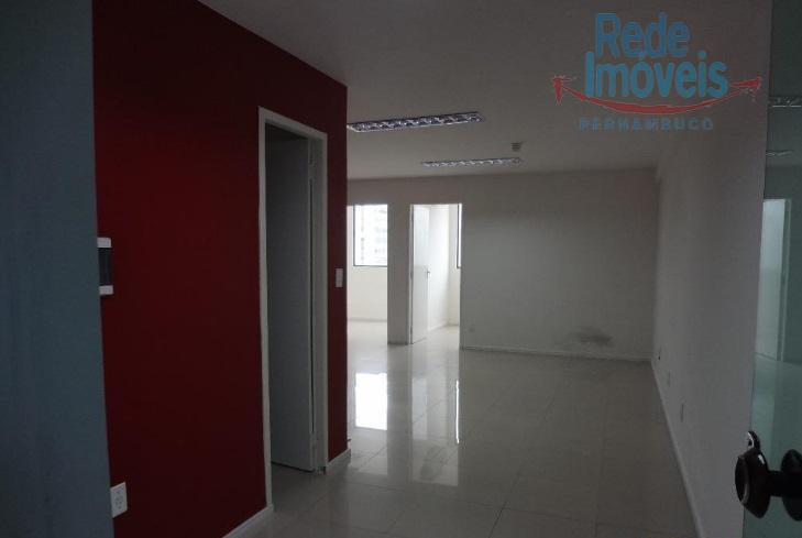 Sala  comercial para locação, pronta, Boa Viagem, Recife.