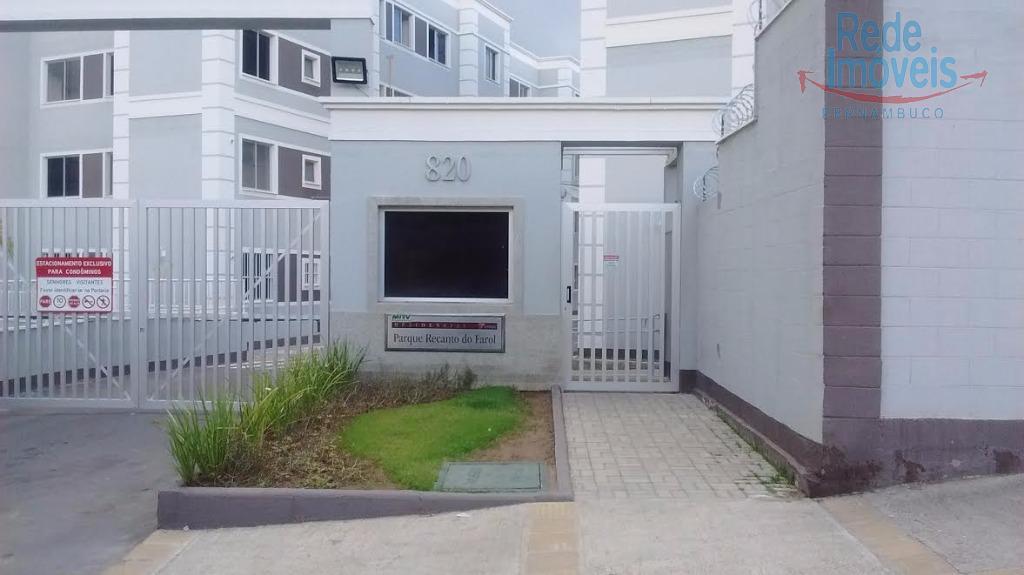 Apartamento residencial para venda e locação, Rio Doce, Olinda.