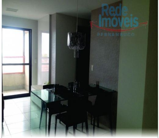 Apartamento residencial à venda, Candeias, Jaboatão dos Guararapes - AP1139.