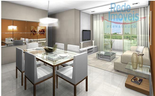 Apartamento residencial à venda, Parnamirim, Recife - AP0327.