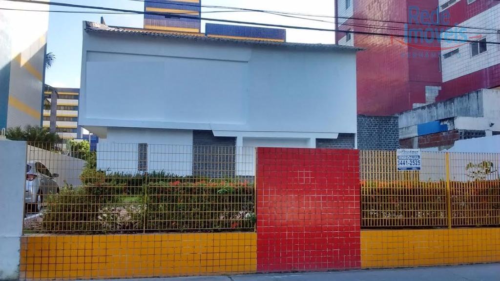 Casa comercial para venda e locação, Derby, Recife.