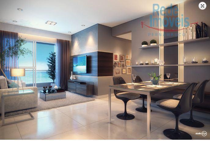 Apartamento residencial à venda, Piedade, Jaboatão dos Guararapes - AP0292.