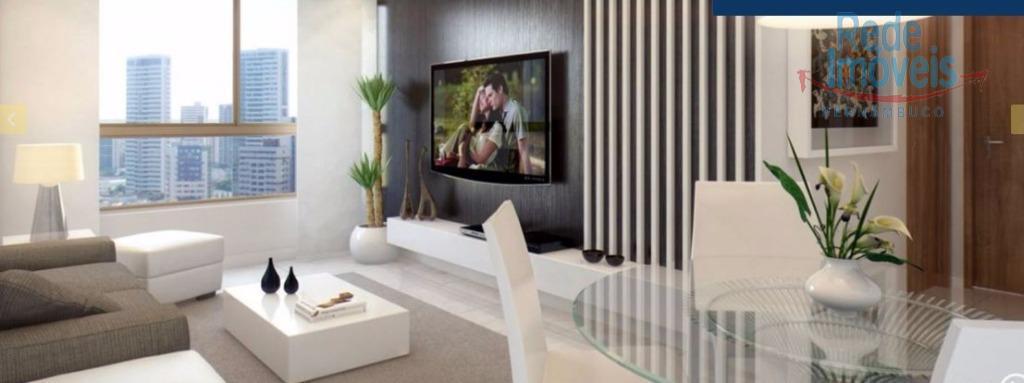 Apartamento residencial à venda, Candeias, Jaboatão dos Guararapes - AP0415.