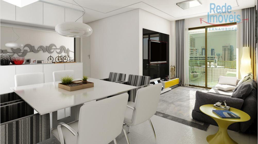 Apartamento residencial à venda, Candeias, Jaboatão dos Guararapes - AP0704.