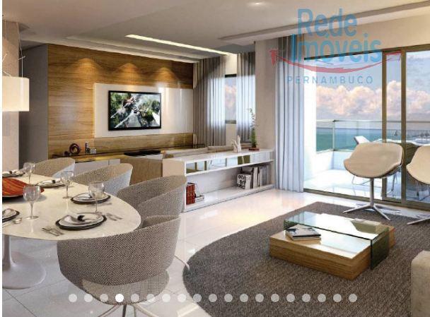 Apartamento residencial à venda, Candeias, Jaboatão dos Guararapes - AP0218.