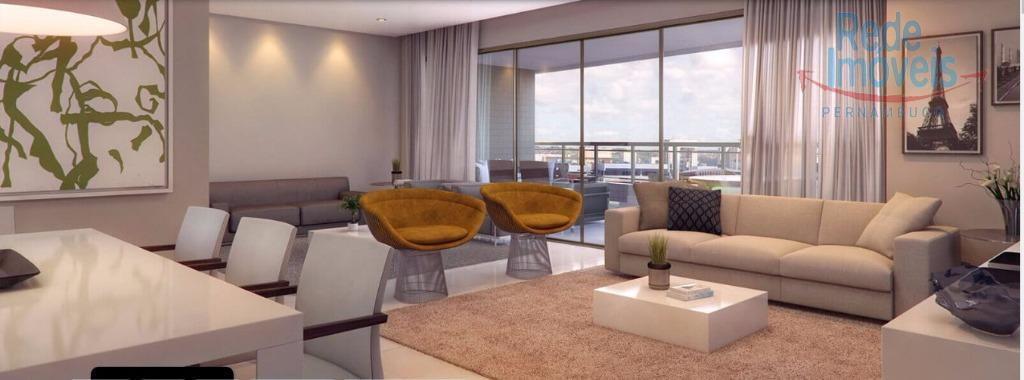 Apartamento residencial à venda, Madalena, Recife - AP0302.