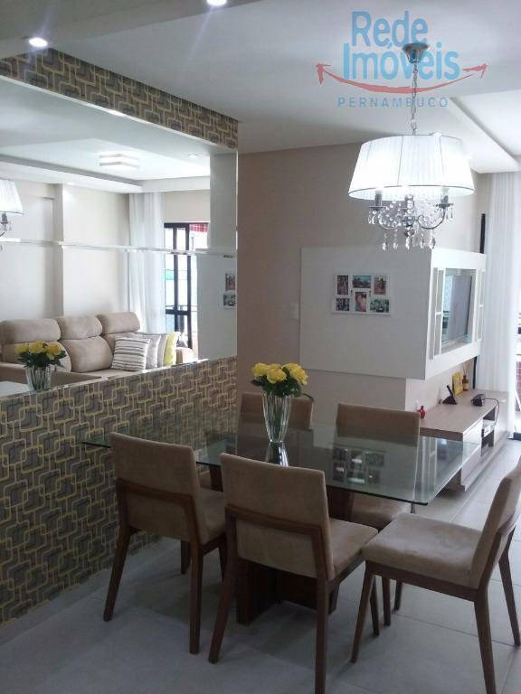 Apartamento com 3 quartos/suíte, com lazer completo no melhor trecho de Piedade