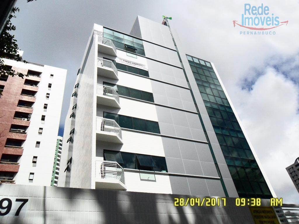 Sala comercial para locação, Casa Forte, Recife.