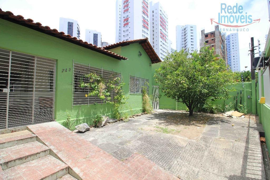 Casa residencial para locação, Torre, Recife.