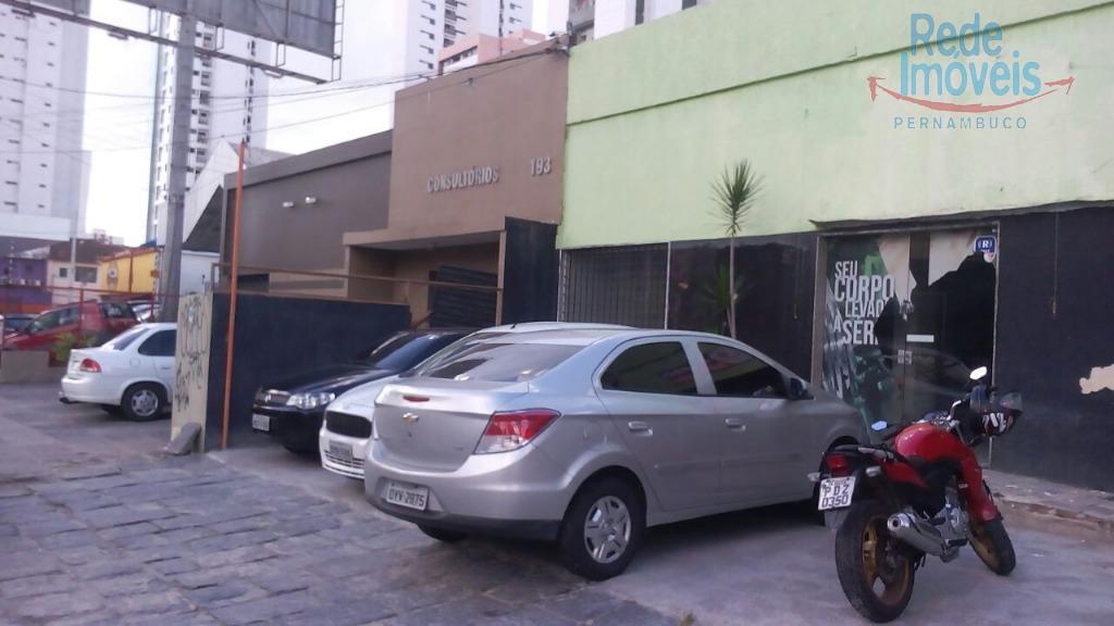 Casa comercial para locação, Madalena, Recife.