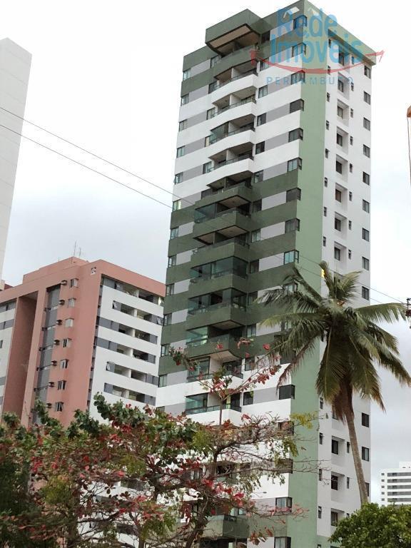 Apartamento residencial para venda e locação, Madalena, Recife.