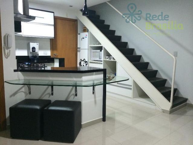 Apartamento residencial à venda, Sul, Águas Claras - AP2740.
