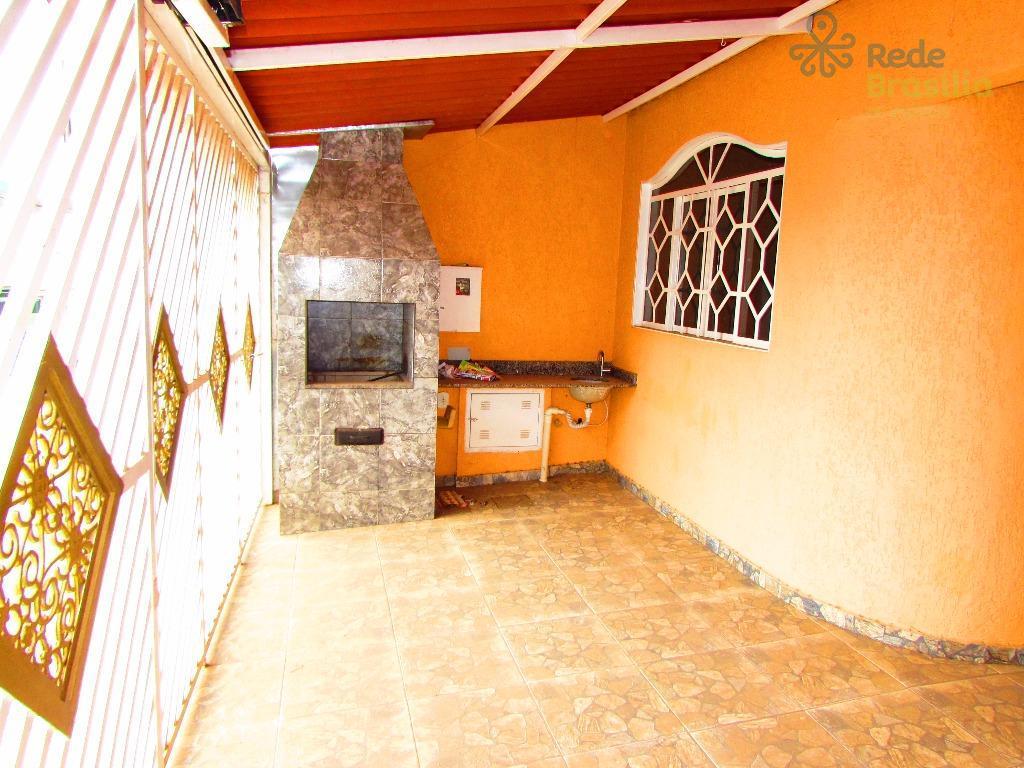 QR 502, Casa residencial à venda, 02 pavimentos, Samambaia Sul