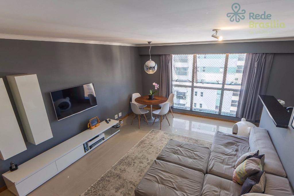 Apartamento residencial à venda, Sul, Águas Claras - AP5080.