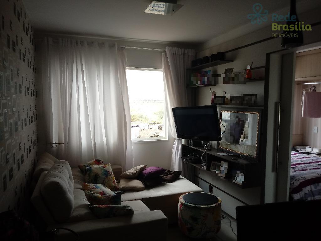 QN 401 Excelente apartamento 1 quarto – Samambaia Norte