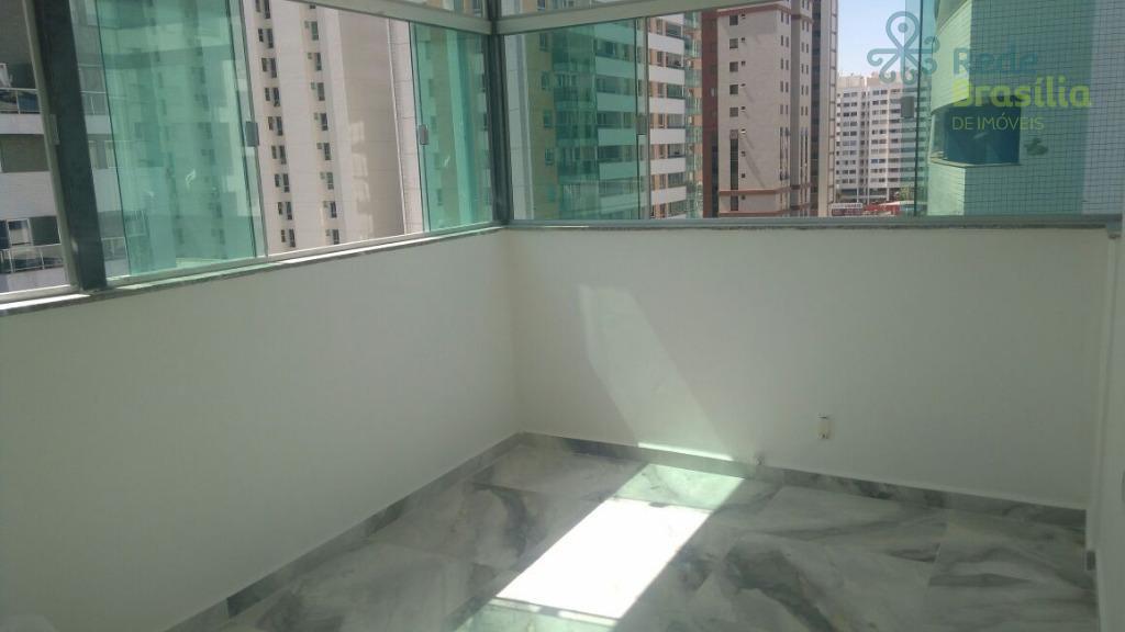 Apartamento 02 quartos com suite,vaga de garagem. Águas Claras.