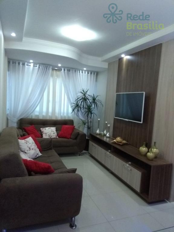 Apartamento Reformado 03 quartos com suite e vaga de garagem. Águas Claras.