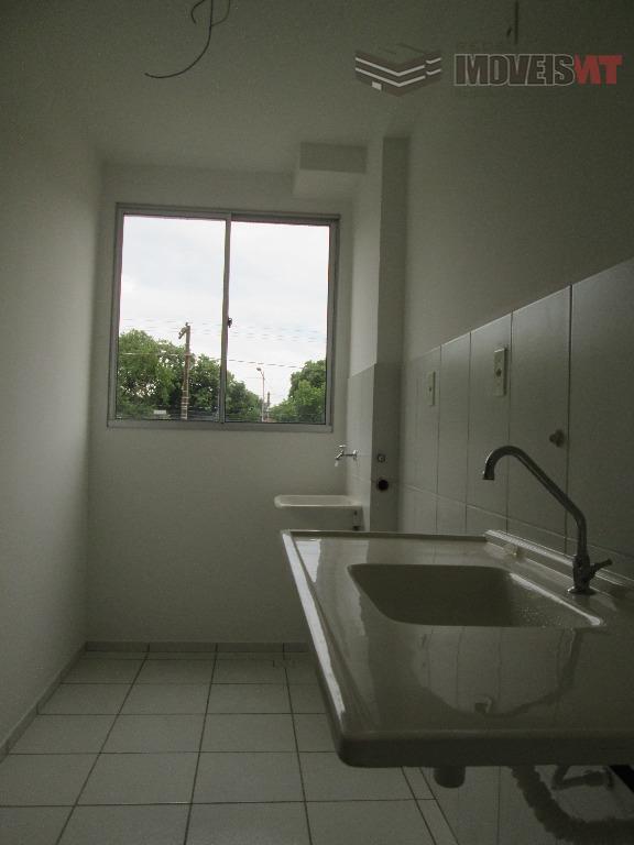 Apartamento residencial à venda, Dom Aquino, Cuiabá - AP0382.